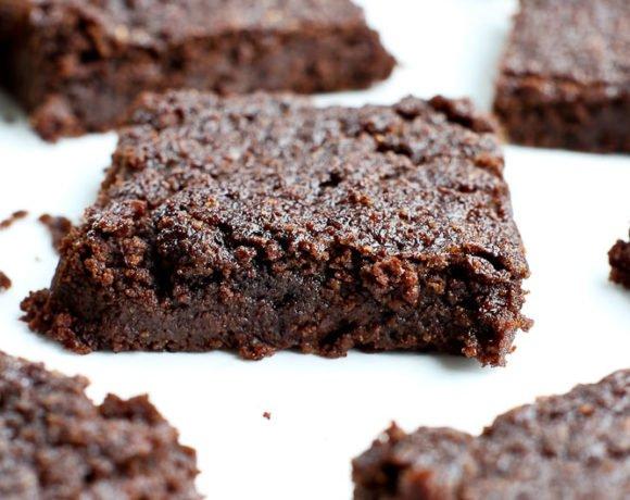 Keto Brownies vegan and gluten free