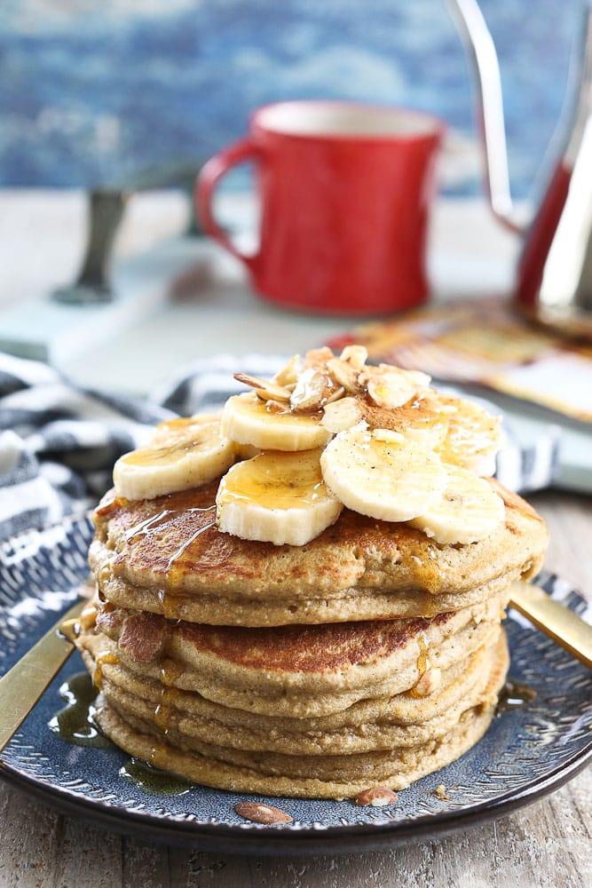 Fluffy Banana Pancakes recipe gluten free