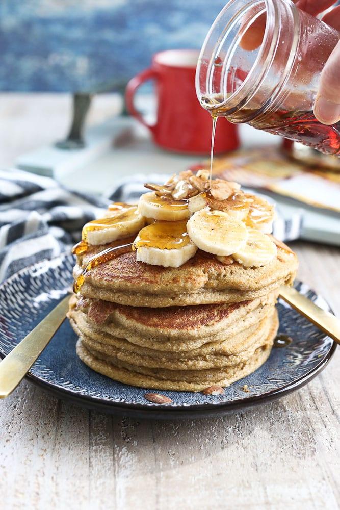 Fluffy Banana Pancakes recipe dairy free gluten free