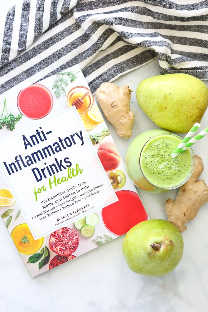 Pear Ginger Smoothie from Anti-Inflammatory Drinks for Health