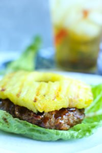 Teriyaki Turkey Burger recipe