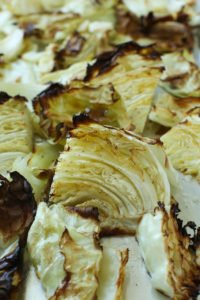 Roasted Cabbage recipe after picture