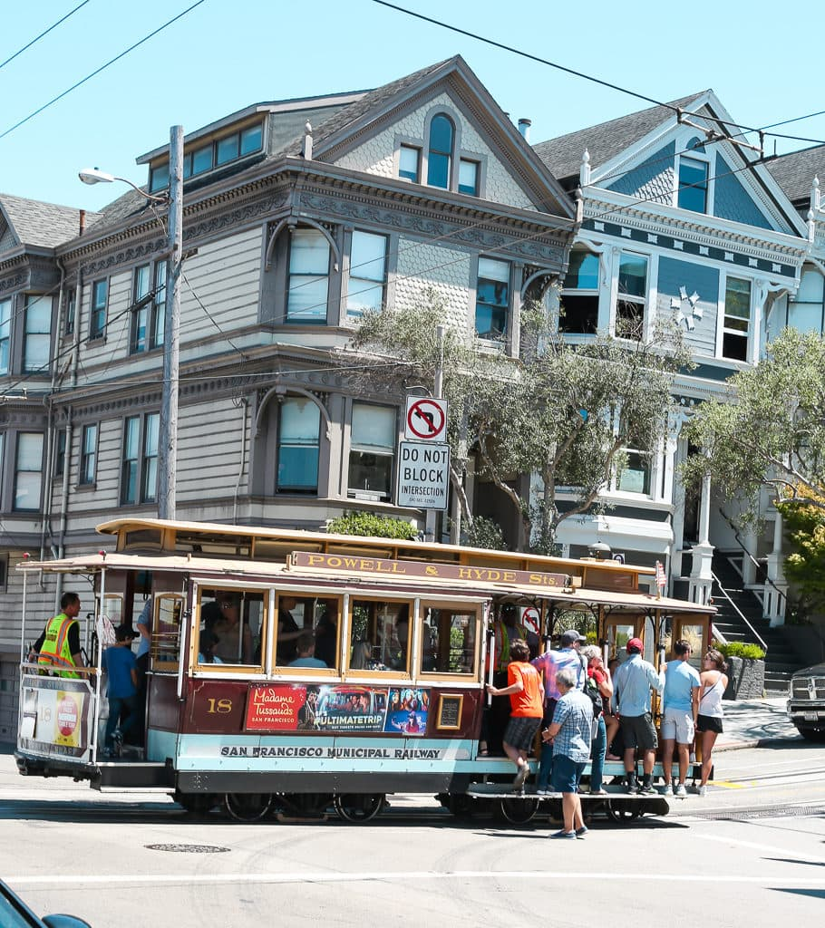Cable Cars in San Fransisco
