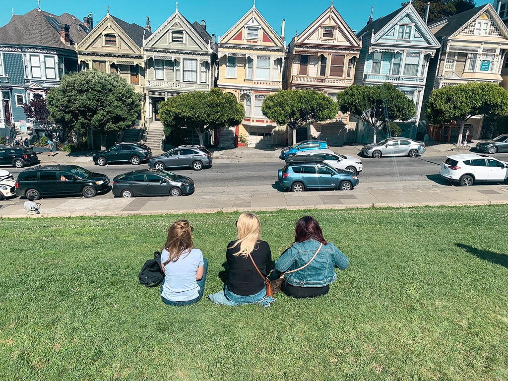 Painted Ladies in San Fransisco