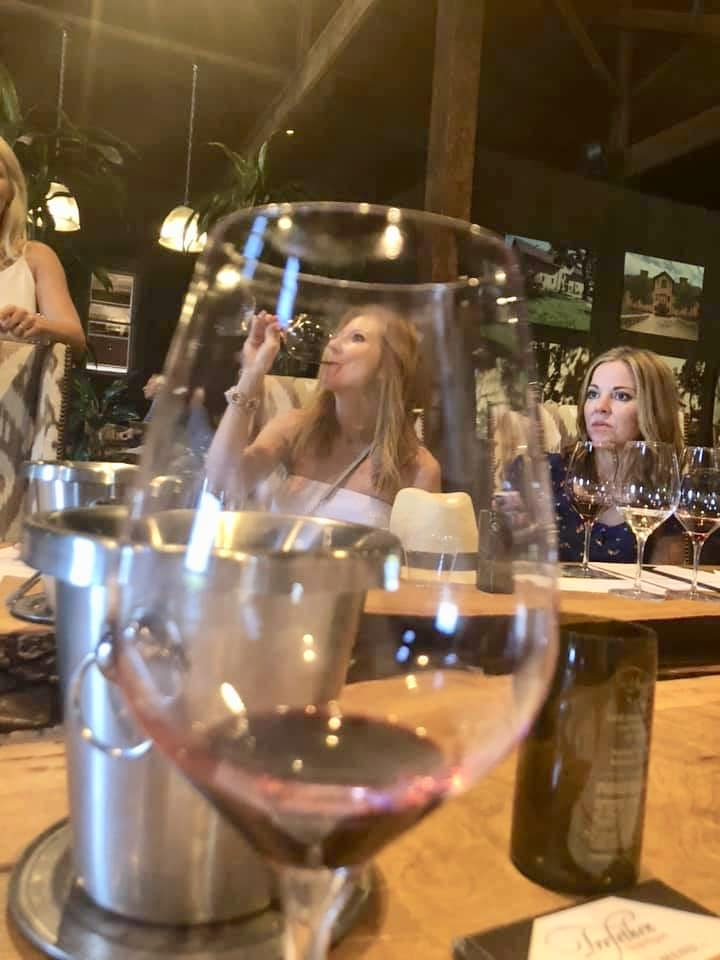 Wine tasting in Napa Valley